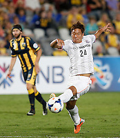 Japan's Sanfrecce Hiroshima Gakuto Notsuda during his AFC Champions League match against Central Coast Mariners in Gosford, near Sydney, March 11, 2014. VIEWPRESS/Daniel Munoz EDITORIAL USE ONLY