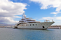 87 metre motor yacht, ACE, moored in the harbour, Puerto Banus, Marbella, Spain, 14th October 2015, 201510141728<br /> <br /> Copyright Image from Victor Patterson, 54 Dorchester Park, Belfast, UK, BT9 6RJ<br /> <br /> t1: +44 28 9066 1296 (from Rep of Ireland 048 90661296)<br /> t2: +44 28 9002 2446 (from Rep of Ireland 048 90022446)<br /> m: +44 7802 353836<br /> <br /> e1: victorpatterson@me.com<br /> e2: victorpatterson@gmail.com<br /> <br /> www.victorpatterson.com<br /> <br /> IMPORTANT: Please see my Terms and Conditions of Use at www.victorpatterson.com