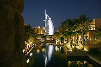 One of the greatest buildings of the century, Burj Al-Arab hotel in Dubai, UAE.