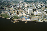 1983 JULY ..Redevelopment.Downtown South (R-9)..LOOKING NORTH.WATERSIDE...NEG#.NRHA#..