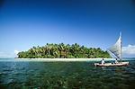 Island landscape, Bocas del Toro, Panama