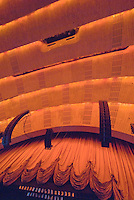 Radio City Music Hall, Interior, New York City, NY, Edward Durell Stone (architect) and Donald Deskey (interior)