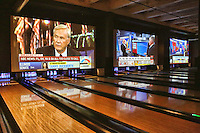 PHILADELPHIA, PA - NOVEMBER 8 :  Election Night Central party triple 6 foot screens pictured at Revolutions in Philadelphia, Pa on November 8, 2016  photo credit  Star Shooter/MediaPunch