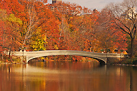 Bow Bridge, Central Park, Manhattan, New York City, New York, USA