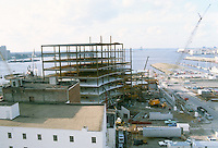 1983 January 11..Redevelopment...Downtown West (A-1-6)..WORLD TRADE CENTER.CONSTRUCTION PHOTOS...NEG#.NRHA#..