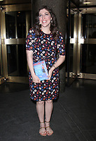 NEW YORK, NY - MAY 11: Mayim Bialik at New York Live promoting her new book 'Girling Up How To Be Strong, Smart and Spectacular. on May 11, 2017 in New York City. Credit: RW/MediaPunch