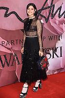 Soko at the Fashion Awards 2016 at the Royal Albert Hall, London. December 5, 2016<br /> Picture: Steve Vas/Featureflash/SilverHub 0208 004 5359/ 07711 972644 Editors@silverhubmedia.com