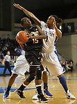 UK guard A'dia Mathies guards a Southern Miss player during the first half of the UK Women's basketball game against Southern Miss on 11/19/11 in Lexington, KY. Photo by Quianna Lige | Staff