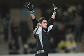 15.01.2013. Torquay, England. Torquay United goalkeeper Michael Poke during the League Two game between Torquay United and Exeter City from Plainmoor.