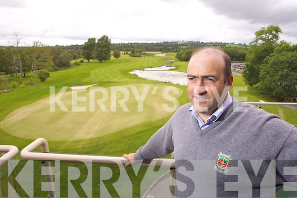 Tomas Kelliher Tournament director for the 3 Irish Open.