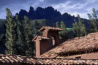 Amérique/Amérique du Sud/Pérou/Env d'Urubamba : L'Hacienda a Yaraulca