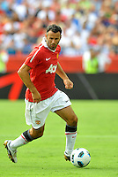 Ryan Giggs,..Kansas City Wizards defeated Manchester United 2-1 in an international friendly at Arrowhead Stadium, Kansas City, Missouri.