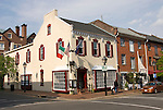 Washington DC; USA: Alexandria's Old Town, historic architecture.Photo copyright Lee Foster Photo # 34-washdc79381