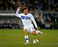 Andrea Pirlo (ITA), during the friendly match Italy against USA at the Stadium Luigi Ferraris at Genova Italy on february the 29th, 2012.