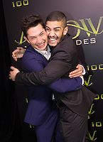VANCOUVER, BC - OCTOBER 22: Joe Dinicol and Rick Gonzalez at the 100th episode celebration for tv's Arrow at the Fairmont Pacific Rim Hotel in Vancouver, British Columbia on October 22, 2016. Credit: Michael Sean Lee/MediaPunch
