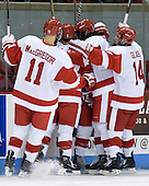 - The Boston University Terriers defeated the visiting University of Toronto Varsity Blues 9-3 on Saturday, October 2, 2010, at Agganis Arena in Boston, MA.