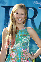 "LOS ANGELES - JUN 18:  Caroline Sunshine arrives at the ""Brave"" LAFF Premiere at Dolby Theatre on June 18, 2012 in Los Angeles, CA"