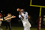 Water Valley's T.T. Person (3) vs. South Pontotoc in Pontotoc, Miss. on Friday, October 7, 2011. Water Valley won 49-7.