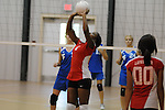 Lafayette High vs. Water Valley in girls high school volleyball action in Water Valley, Miss. on Thursday, September 8, 2011.