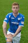 St Johnstone FC Photocall, 2015-16 Season....03.08.15<br /> Liam Caddis<br /> Picture by Graeme Hart.<br /> Copyright Perthshire Picture Agency<br /> Tel: 01738 623350  Mobile: 07990 594431