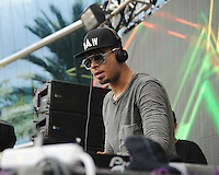 MIAMI BEACH , FL - AUGUST 13: Afrojack performs during the I Heart Radio Y-100 Mackapoolooza Pool Party at The Fountainbleu on August 13, 2016 in Miami Beach, Florida. Credit: mpi04/MediaPunch