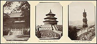 BNPS.co.uk (01202 558833)<br /> Pic: Sothebys/BNPS<br /> <br /> Shrine of Confucious, Temple of Heaven and the Summer Palace around 'Pekin'.<br /> <br /> Unseen pictures from the days of Empire - A British admiral's stunning collection of photos from his time in the Far East have been unearthed after 110 years.<br /> <br /> The fascinating photographs were compiled by Admiral Sir Arthur Moore during his service as Commander-in-Chief of the China Station between 1906 and 1908. <br /> <br /> They cover Adm Moore's travels by ship and boat in China, Korea and Thailand and his interest in the places and people he encountered. <br /> <br /> The locations include scenes along the Yangtze River, Hong Kong, Bangkok, Peking, Shanghai and Seoul.