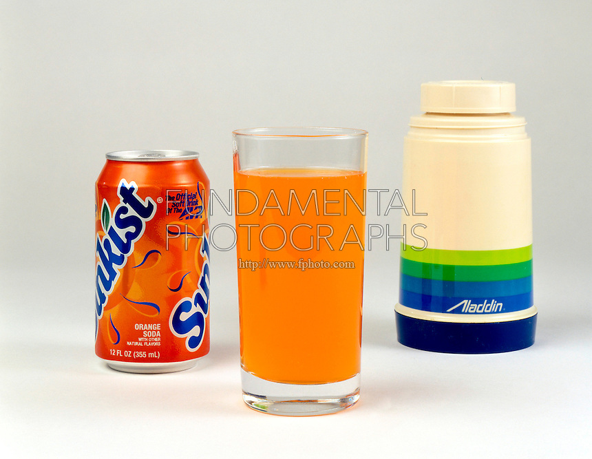 INSULATION COMPARISON: GLASS, SODA CAN &amp; THERMOS <br />