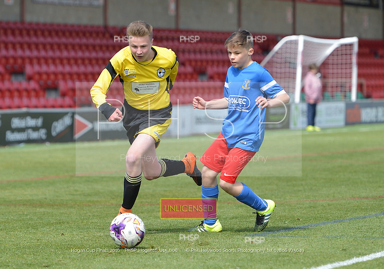 15/05/2016 Hogan Cup Final 2016 U-15's Clifton Rangers v Kirkham<br /> To order a print click on &quot;Add to Cart&quot; Size and pricing options will be displayed
