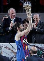 KIng Juan Carlos KING'S CUP 2013.FINAL