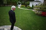 David Burnett Bill Clinton At Home Chappaqua New York