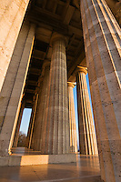 Walhalla temple, near Regensburg, Oberpfalz, Bavaria, Germany