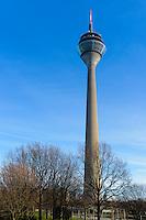 Dusseldorf TV Tower Rheinturm, Germany