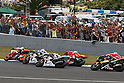 May 2, 2010 - Jerez, Spain  -  The MotoGP riders start from the grid during Spanish Grand Prix on May 2, 2010 in Jerez de la Frontera, Spain. (Photo Andrew Northcott/Nippon News).