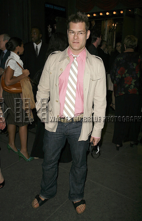 John Bartlett attending the Opening Night performance of the Roundabout Theatre Company's Broadway production of THE THREEPENNY OPERA at Studio 54 in New York City..April 20, 2006 .© Walter McBride/WM Photography