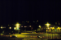SODIUM VAPOR LIGHTS<br /> Brooklyn Battery Tunnel Toll Plaza, NY
