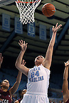 12 December 2012: North Carolina's Whitney Adams. The University of North Carolina Tar Heels played the North Carolina Central University Eagles at Carmichael Arena in Chapel Hill, North Carolina in an NCAA Division I Women's Basketball game. UNC won the game 49-21.