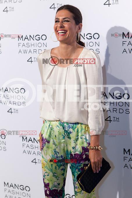 Presenter Nuria Roca attends the Mango Fashion Awards,  Barcelona Spain, May 30, 2012.