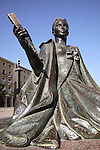 Goya Monument, Plaza de Pilar Square; Zaragoza - Saragossa; Aragon; Spain