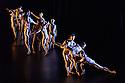 London, UK. 03.03.2017. Company Wayne McGregor/ Paris Opera Ballet presents TREE OF CODES, in its London premiere, at Sadler's Wells. TREE OF CODES is a collaboration by choreographer Wayne McGregor, artist Olafur Eliasson, and musician Jamie xx. The dancers are: Company Wayne McGregor - Catarina Carvalho, Travis Clausen-Knight, Alvaro Dule, Louis McMiller, Daniela Neugebauer, James Pett, Fukiko Takase, Po-Lin Tung, Jessica Wright; Paris Opera Ballet - Marie-Agnes Gillot, Jeremie Belingard, Lydie Vareilhes, Sebastien Bertaud, Julien Meyzindi, Lucie Fenwick. Photograph © Jane Hobson.