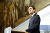 Rt Hon Ed Miliband MP<br /> Leader of the Labour party <br /> speaking at the Report of the Independent Commission on the future of Policing in England and Wales<br /> <br /> at the RSA, London, Great Britain <br /> <br /> Edward Samuel Miliband is a British Labour Party politician, currently the Leader of the Labour Party and Leader of the Opposition<br /> <br /> <br /> 25th November 2013 <br /> <br /> <br /> Yvette Cooper MP shadow Home Secretary<br /> Yvette Cooper is a British Labour Party politician who has been the Member of Parliament for Normanton, Pontefract and Castleford since 2010, having previously been the MP for Pontefract and Castleford since 1997 <br /> <br /> Jack Straw - former Home Secretary <br /> John Whitaker &quot;Jack&quot; Straw is a British Labour Party politician and Member of Parliament for Blackburn<br /> <br /> Lord Stevens <br /> John Arthur Stevens, Baron Stevens of Kirkwhelpington KStJ QPM DL FRSA was Commissioner of Police of the Metropolis from 2000 until 2005<br /> <br /> <br /> Photograph by Elliott Franks