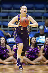 20 March 2015: Albany's Erin Coughlin. The Duke University Blue Devils hosted the University at Albany Great Danes at Cameron Indoor Stadium in Durham, North Carolina in a 2014-15 NCAA Division I Women's Basketball Tournament first round game.