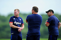 Bath Rugby coach Barry Maddocks looks on. Bath Rugby pre-season training session on August 9, 2016 at Farleigh House in Bath, England. Photo by: Patrick Khachfe / Onside Images