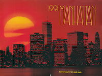 Rizzoli 1991 Manhattan Calendar