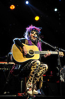 LONDON, ENGLAND - SEPTEMBER 24: Nina Hagen performing at Shepherd's Bush Empire on September 24, 2016 in London, England.<br /> CAP/MAR<br /> &copy;MAR/Capital Pictures /MediaPunch ***NORTH AND SOUTH AMERICAS ONLY***