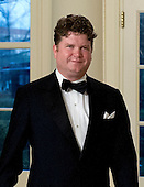 Matthew Barzun, National Finance Chair for Obama for America 2012, arrives for the Official Dinner in honor of Prime Minister David Cameron of Great Britain and his wife, Samantha, at the White House in Washington, D.C. on Tuesday, March 14, 2012..Credit: Ron Sachs / CNP.(RESTRICTION: NO New York or New Jersey Newspapers or newspapers within a 75 mile radius of New York City)