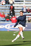 27 November 2010: Christie Rampone (USA). The United States Women's National Team defeated the Italy Women's National Team 1-0 in the second leg of their 2011 FIFA Women's World Cup Qualifier playoff at Toyota Park in Bridgeview, Illinois. The U.S. won the series 2-0 on aggregate goals to advance.