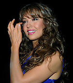 "Washington, DC - October 13, 2009 -- Performer Thalia attends a White House Music Series ""Fiesta Latina"" on the South Lawn of the White House in Washington on Tuesday, October 13, 2009. .Credit: Alexis C. Glenn / Pool via CNP"