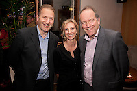 Giles Inman of EMPO (left), Catherine McCannah of Nelsons and David Stewart of Inresidence
