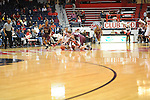 "Arkansas Little Rock's Ben Dillard (24), Mississippi's Marshall Hnderson (22), Mississippi's Murphy Holloway (31), and Arkansas Little Rock's Will Neighbour (53) go for the ball at the C.M. ""Tad"" Smith Coliseum in Oxford, Miss. on Friday, November 16, 2012."