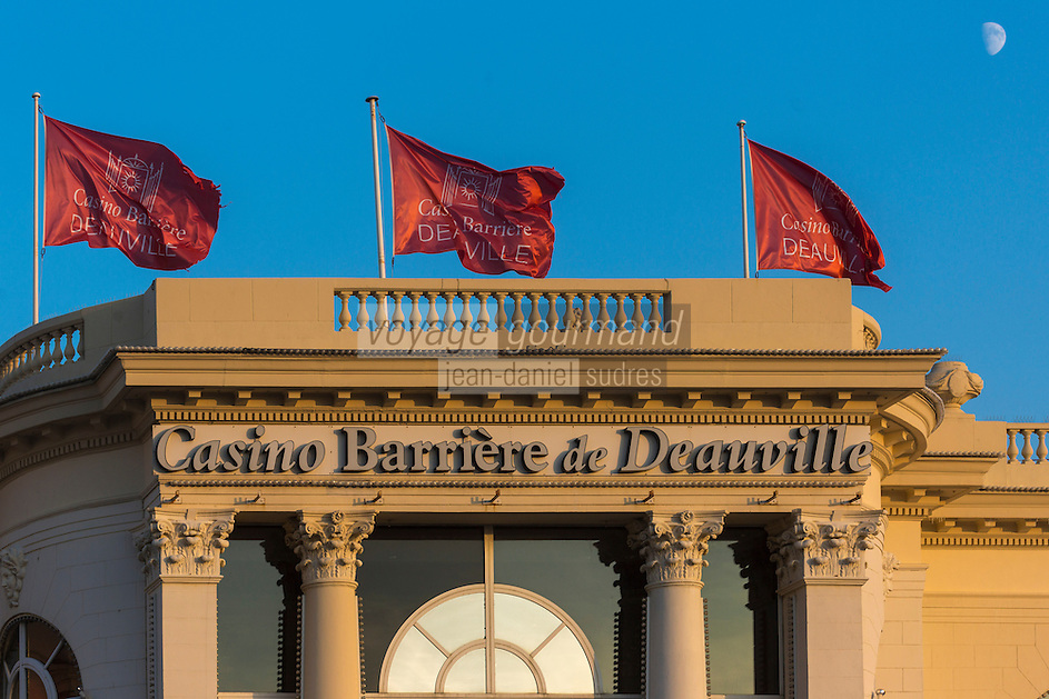 France, Calvados (14), Côte Fleurie, Deauville, Casino de Deauville // France, Calvados, Cote Fleurie, Deauville,   The Casino